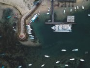 Indonesia, Bali, Veduta aerea della spiaggia di Benoa — Foto stock