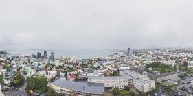 Ісландія, Рейк'явік, арila вид на місто — стокове фото