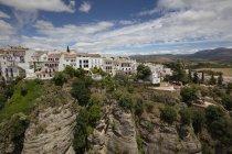 Іспанія, Малага, Ронда з Tajo де Ронда, Jardines де Куенка — стокове фото