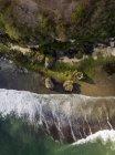 Indonésie, Bali, Padang, Vue aérienne de la plage de Thomas — Photo de stock