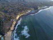 Indonesien, Bali, Luftaufnahme vom Traumland-Strand — Stockfoto