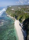 Indonesia, Bali, Veduta aerea della spiaggia di Karma Kandara — Foto stock