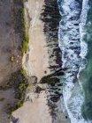 Indonesia, Bali, Veduta aerea della spiaggia di Dreamland dall'alto — Foto stock