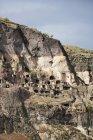 Georgia, Samtskhe-Javakheti, Cave city Vardzia — Stock Photo