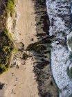 Indonesia, Bali, Veduta aerea della spiaggia di Dreamland — Foto stock