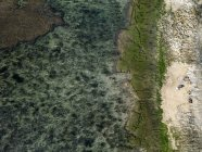 Indonesia, Bali, Veduta aerea della spiaggia di Bingin — Foto stock