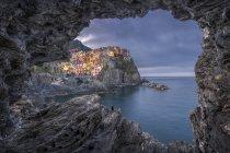 Italy, Liguria, La Spezia, Cinque Terre National Park, Manarola — Stock Photo