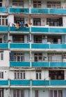 Грузія, Аджара, Батумі, старий житловий будинок, Крупний план — стокове фото