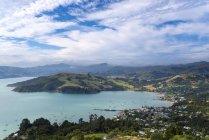 Isole Del Sud, Isola di Canterbury, Penisola di Banks, Porto di Akaroa — Foto stock