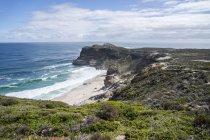Africa, South Africa, Western Cape, Cape of good hope, beach seen from Cape Point — Stock Photo