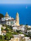 Italia, Campania, Costa Amalfitana, Península de Sorrento, Praiano, Iglesia de Parrocchia Di San Gennaro — Stock Photo