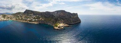 Spagna, Maiorca, Veduta aerea di Cala LLamp — Foto stock