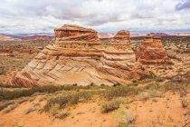 Америка, Аризона, Канаб, Койот Баттс — стоковое фото