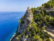Spanien, baleares, mallorca, region andratx, westküste, serra de tramuntana, torre del verger — Stockfoto