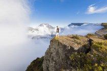 Riunione, Punto di vista Maido, Vista dal vulcano Maido al Cirque de Mafate — Foto stock