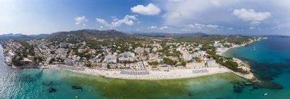 Spagna, Isole Baleari, Maiorca, regione Calvia, Costa de la Calma, Peguera, Cala Fornells — Foto stock