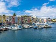 Italien, Kampanien, phlegräischen Insel, procida Insel, marina die procida — Stockfoto