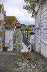 Norway, Hordaland, Bergen, Historic old town, Gamle Bergen — Stock Photo