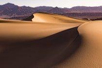 USA, Californien, Death Valley, Death Valley National Park, Mesquite Flat Sand Dunes — стокове фото