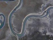 Estados Unidos, Vista aérea de un campo de algodón en la costa este de Virginia - foto de stock