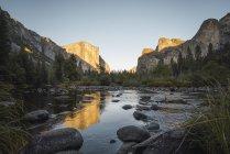 USA, California, Yosemite National Park, Yosemite Valley — Stock Photo