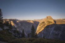USA, California, Yosemite National Park, Glacier Point — Stock Photo