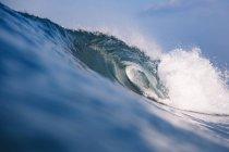 Indonesien, bali, Nahaufnahme der Welle — Stockfoto