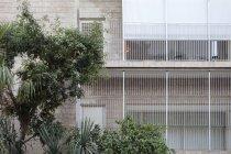 Israel, Tel Aviv, Rothschild Boulevard, White City, International Style — Stock Photo