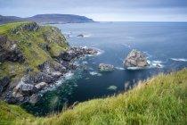 Uk, Escocia, Highland, North Coast 500, Faraid Head cerca de Durness - foto de stock