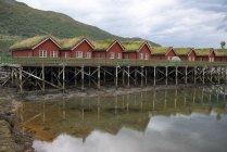 Norvège, Manndalen, gîtes — Photo de stock