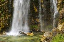 Albania, Theth National Park, Ujevara e Grunasit — Foto stock