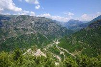 Albânia, Shkoder County, Alpes albaneses, cem Canyon — Fotografia de Stock