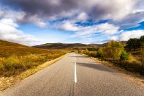 Great Britain, Scotland, Highlands, road — Stock Photo
