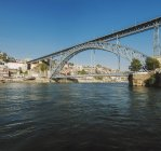 Portugal, Porto, Luiz I Bridge — Stock Photo