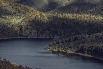 Espagne, Estrémadure, Las Hurdes, Caceres, rivière, méandre — Photo de stock