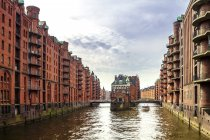 Germania, Amburgo, Old Warehouse District — Foto stock
