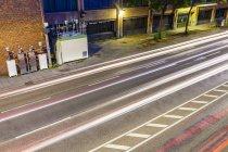 Deutschland, stuttgart, bundesstraße b14, am neckartor, messstation für stickstoffdioxid — Stockfoto