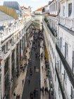 Португалія, Lisboa, Чіаду, міський пейзаж з Песональної дорогою — стокове фото