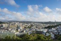 Японія, Окінава, перегляд через Наха — стокове фото