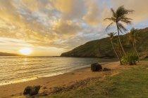 USA, Hawaii, Oahu, Hanauma Bay, toter Vulkankrater — Stockfoto