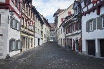 Швейцарія, Штайн-ам-Райн, Старе місто, Алея — стокове фото