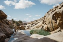 Spain, Canaray Islands, Fuerteventura, rock formations — Stock Photo