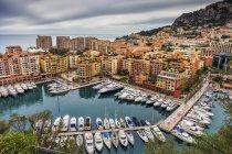 Principato di Monaco, Monaco, Monte Carlo, Fontvieille, Porto de Fontvieille — Foto stock