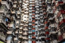 Hong Kong, Quarry Bay, bloques de apartamentos - foto de stock