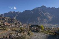 Georgia, Greater Caucasus, Stepantsminda, old village centre — Stock Photo