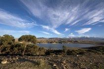 Марокко, Лалла Такеркуст, резервуар проти сонця — стокове фото