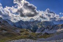 Italy, Veneto, Dolomites, San Pellegrino Pass, Alta Via Bepi Zac — Stock Photo