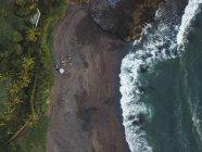 Indonesia, Bali, Veduta aerea della spiaggia di Pererena — Foto stock