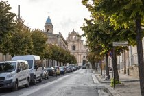 Italy, Sicily, Province of Ragusa, Ispica, Annunziata Church — Stock Photo