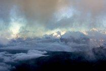 Italy, Veneto, Dolomites, Alta Via Bepi Zac, Sunset — Stock Photo
